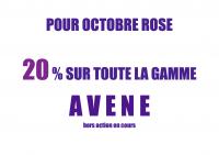 AVENE OCTOBRE ROSE -20%